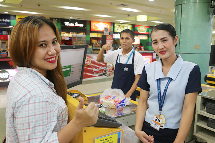 BeamAndGo_Gaisano Grand Malls Counter