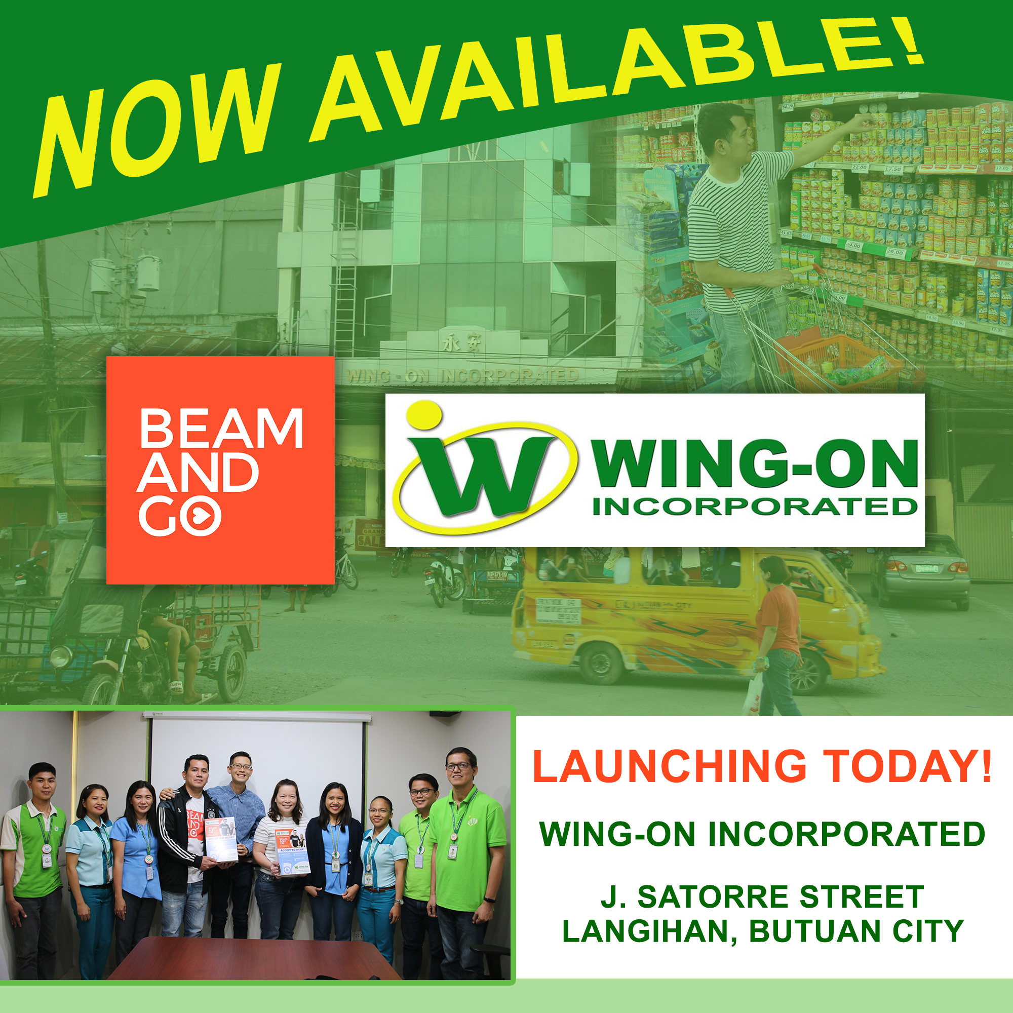 Wing-on Inc - Launching Today